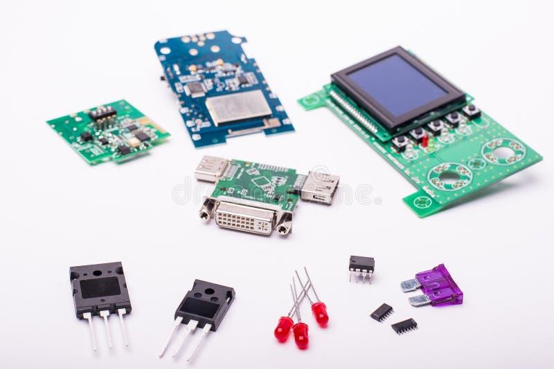 компоненты электрические стоковая фотография