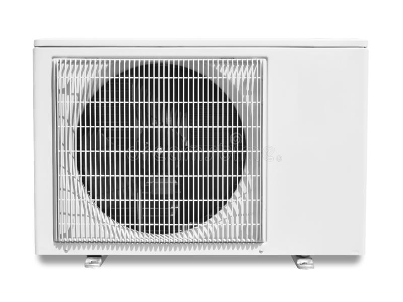 компрессор кондиционирования воздуха стоковая фотография
