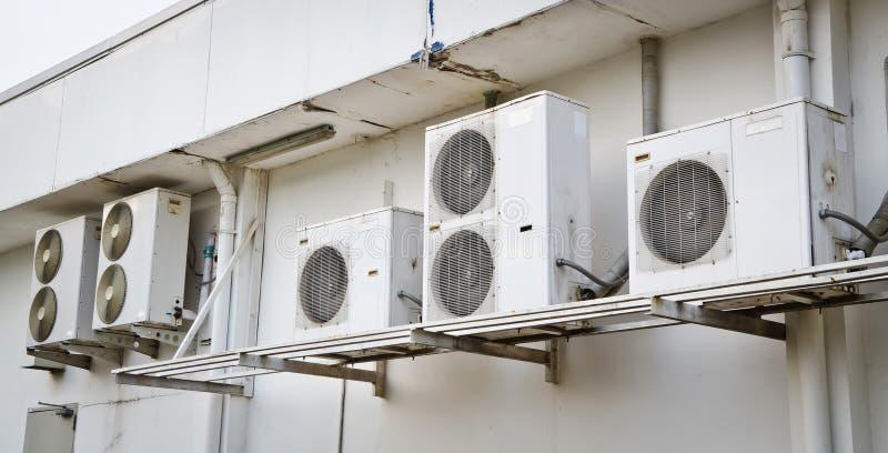 Компрессор кондиционера воздуха стоковое изображение rf