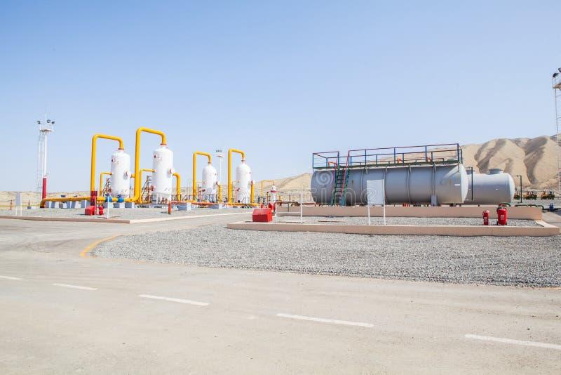 Компрессор refinator нефти и газ стоковое изображение rf