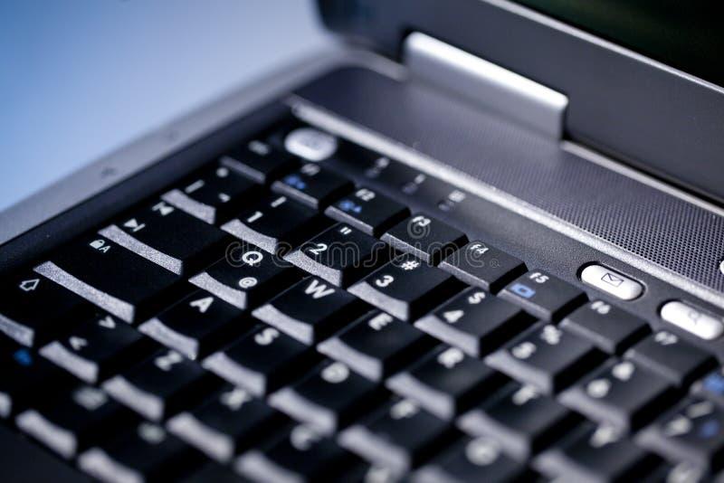 компьтер-книжка клавиатуры стоковое фото rf