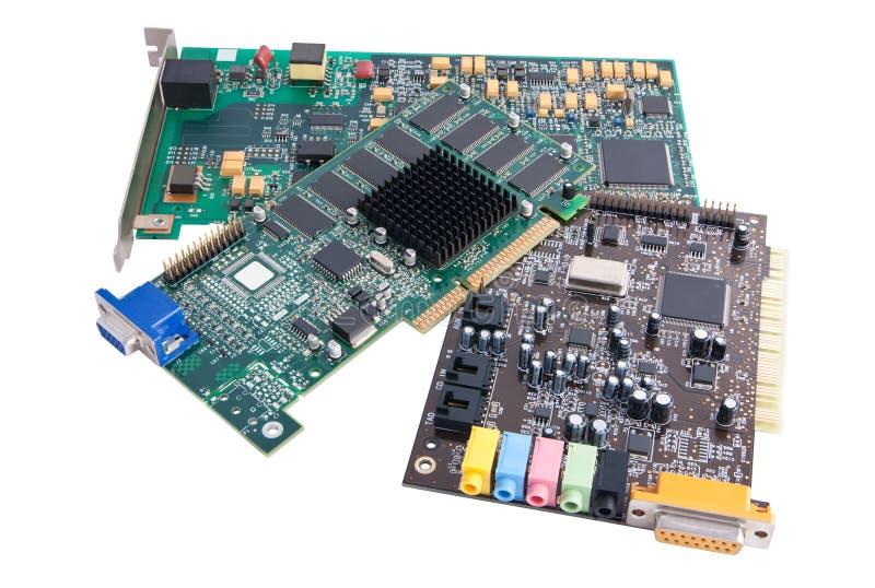 компьютерное оборудование компонентов стоковые фото