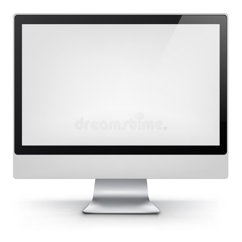 Компьютер. Вектор EPS 10. иллюстрация штока
