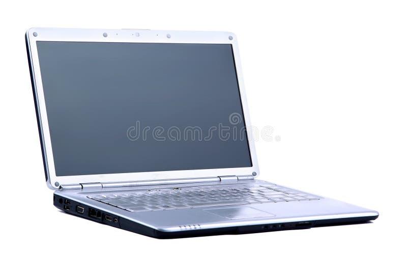 Компьютер изолированный на белизне стоковые фотографии rf