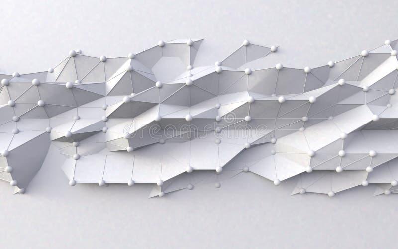 Компьютер и наука облака иллюстрация штока