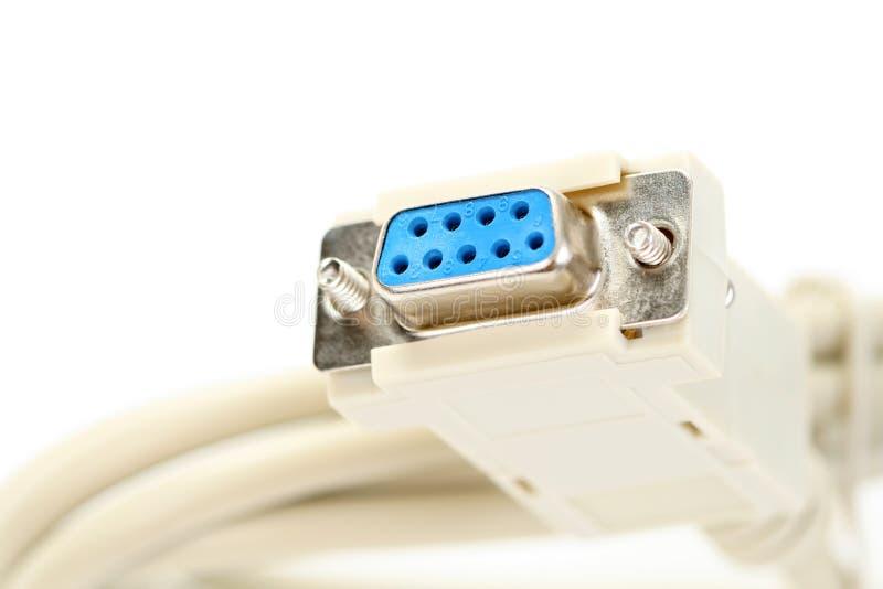 компьютер кабеля стоковое фото rf