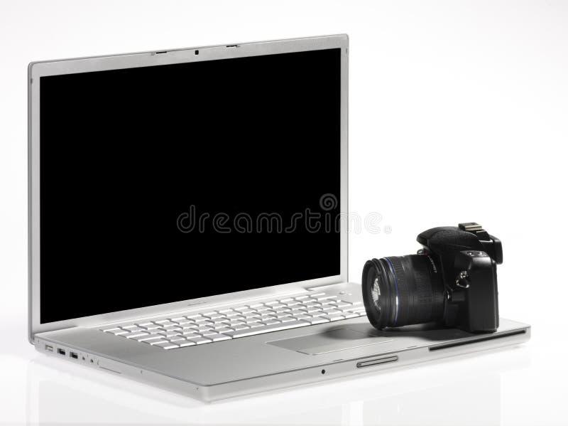 компьютер камеры стоковая фотография