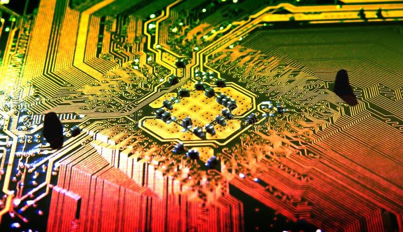 компьютер карточки стоковые фотографии rf