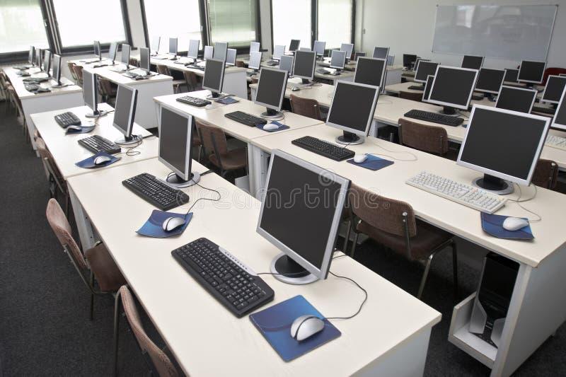 компьютер класса 4 стоковая фотография rf
