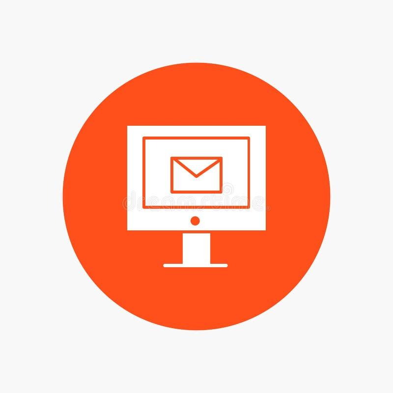 Компьютер, почта, болтовня, обслуживание бесплатная иллюстрация
