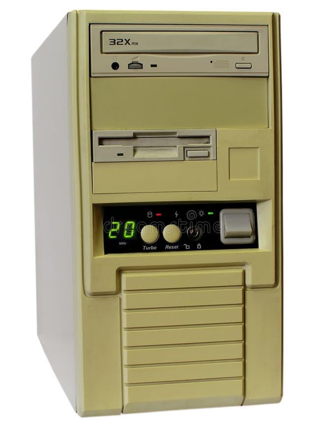 компьютер старый стоковые фотографии rf