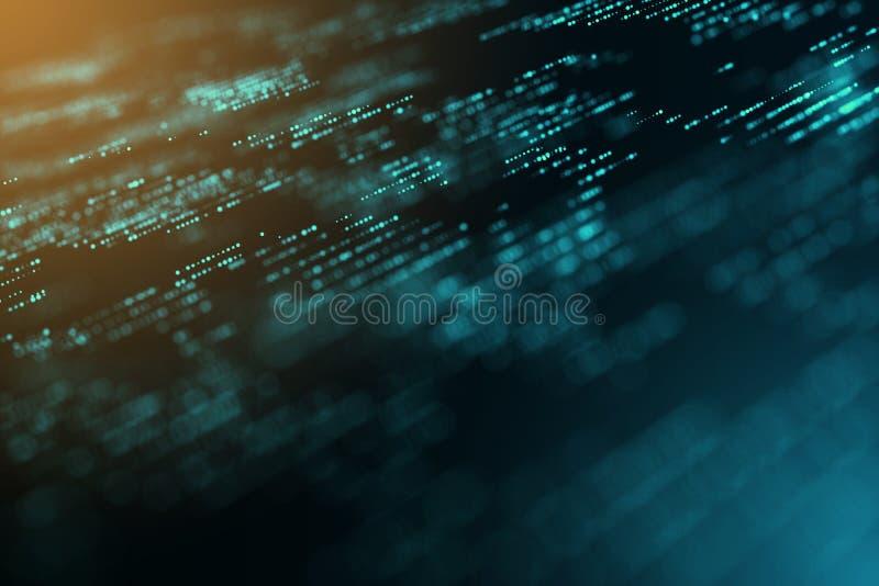 Компьютер цифров графический произвел предпосылку нерезкости космоса экземпляра движения энергии стоковые фотографии rf