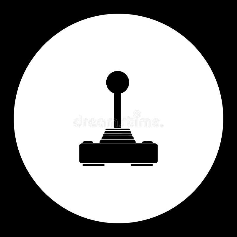 Компьютер input кнюппель для значка eps10 игры простого черного бесплатная иллюстрация