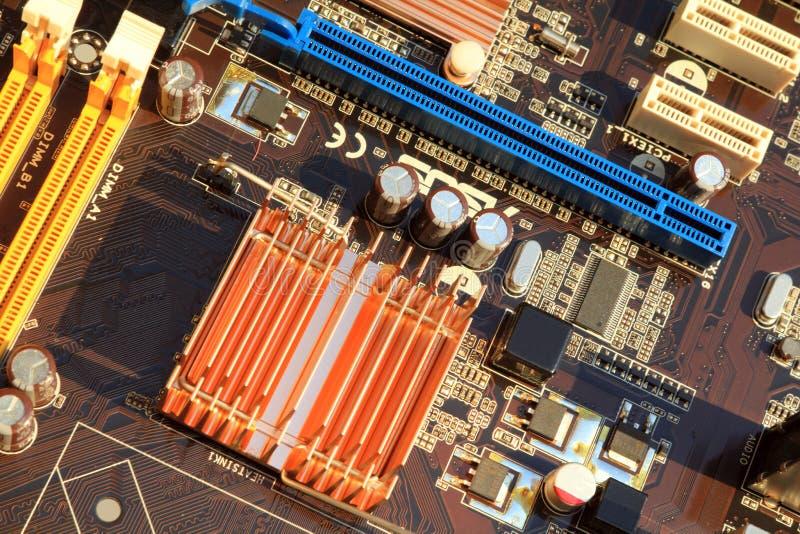 Компьютер Mainboard стоковая фотография
