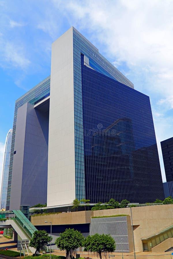 Комплекс центрального правительства, Гонконг стоковое изображение rf