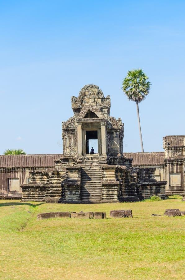 Комплекс Angkor Wat стоковое изображение