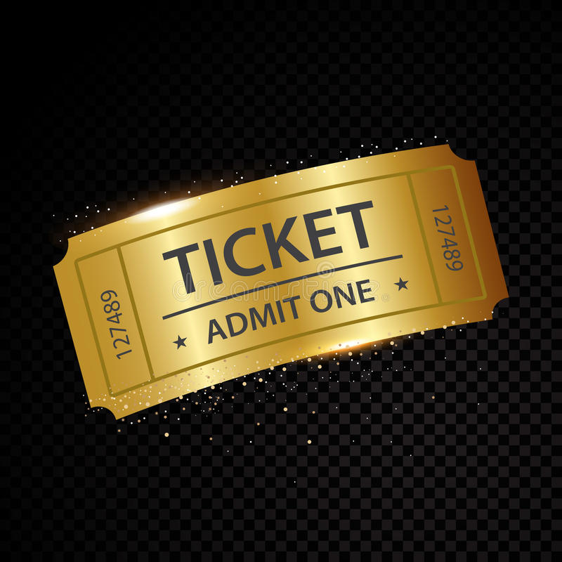 Комплект 11 билетов вектора и шаблонов талонов бесплатная иллюстрация