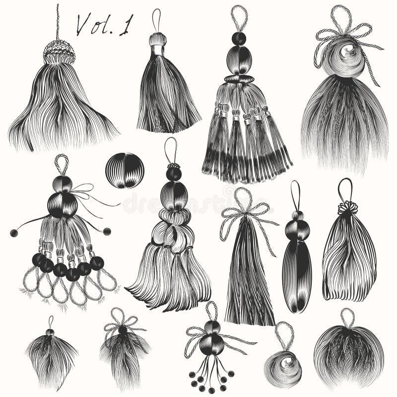 Download Комплект борьб выгравированных вектором для дизайна VOL. 2 Иллюстрация вектора - иллюстрации насчитывающей печать, культура: 81802857