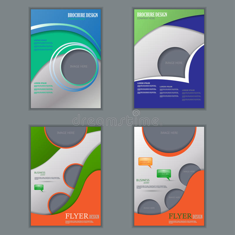 Комплект вектора вертикальных рогулек для дизайна бесплатная иллюстрация