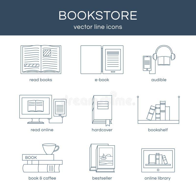 Комплект вектора книг иллюстрация штока