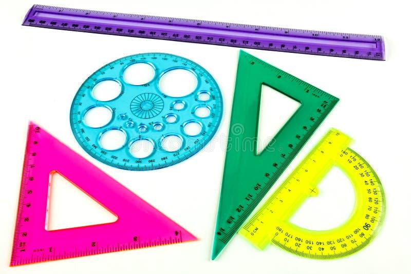 Комплект геометрии стоковые изображения rf