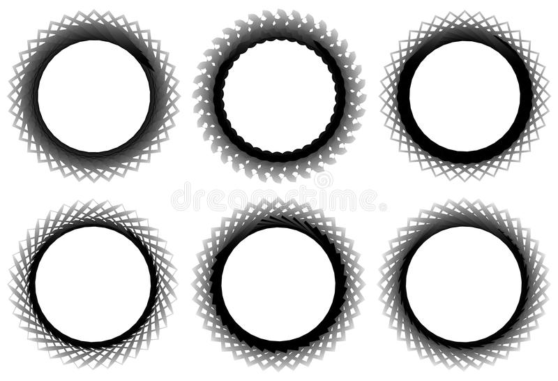 Download Комплект геометрического элемента 6 циркуляров Абстрактные формы геометрии Иллюстрация вектора - иллюстрации насчитывающей конспектов, элемент: 81805216