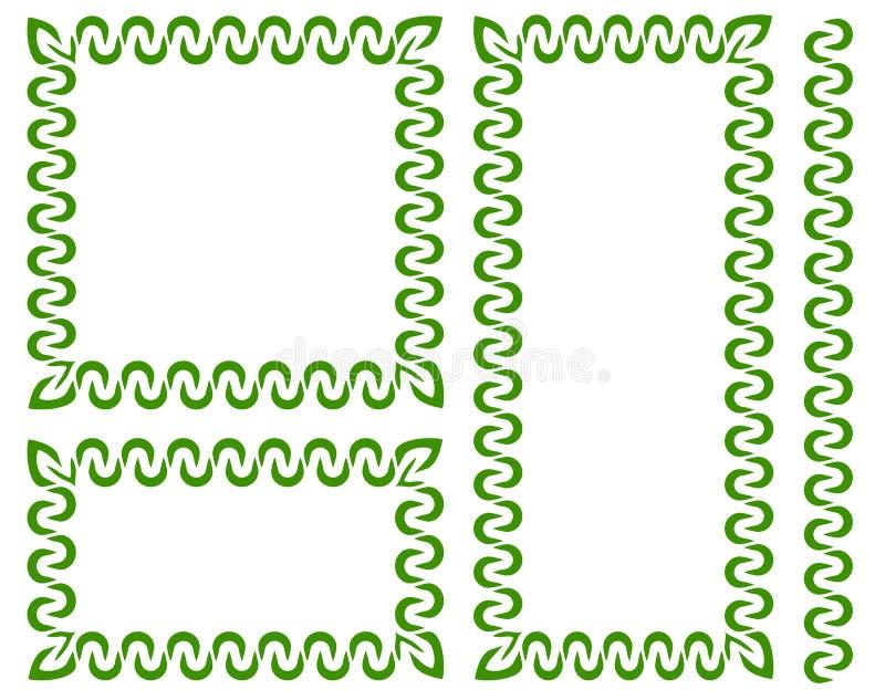 Download Комплект декоративных рамок в различных размерах Иллюстрация вектора - иллюстрации насчитывающей орнамент, boris: 81805907
