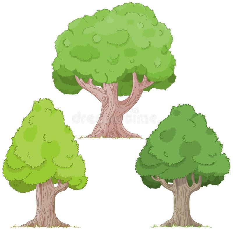 Комплект дерева бесплатная иллюстрация