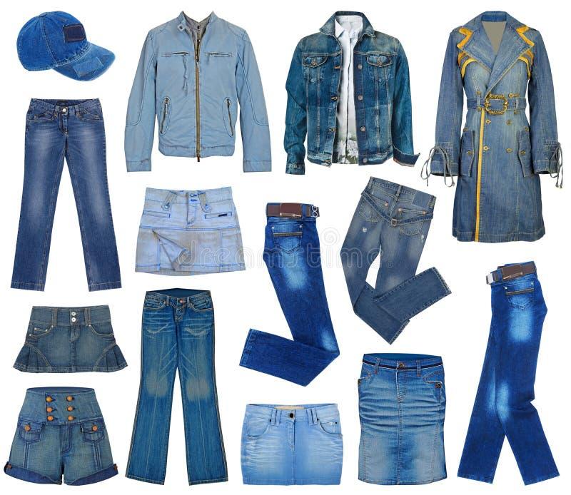 Комплект джинсов стоковое фото