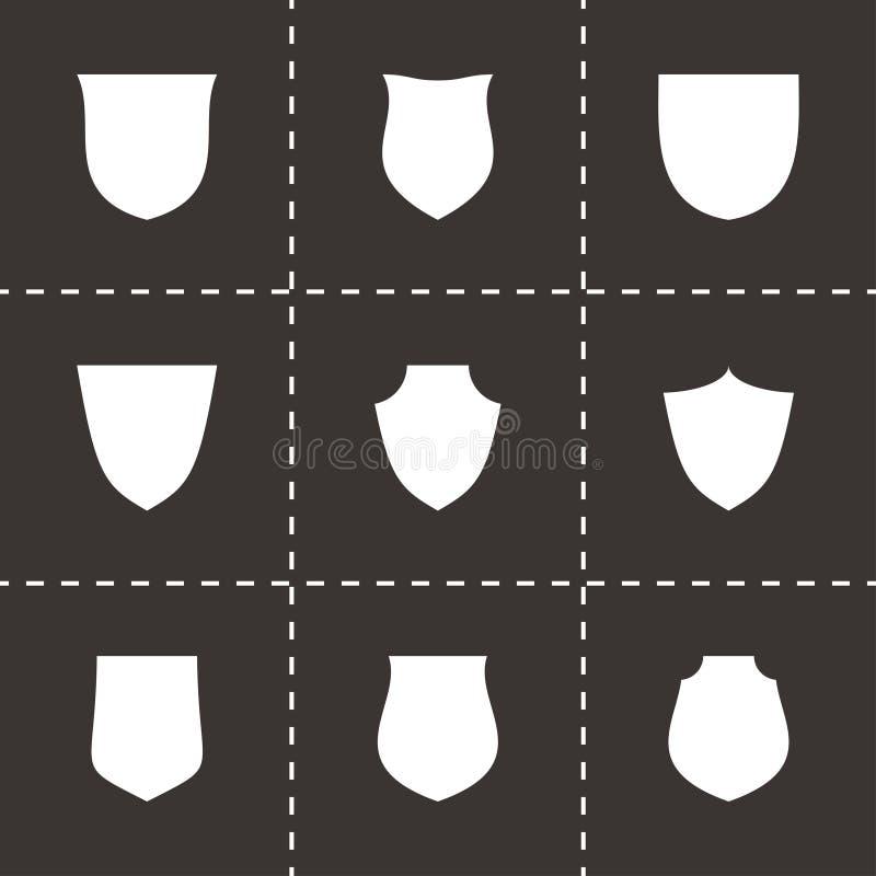 Комплект значка экрана вектора иллюстрация вектора
