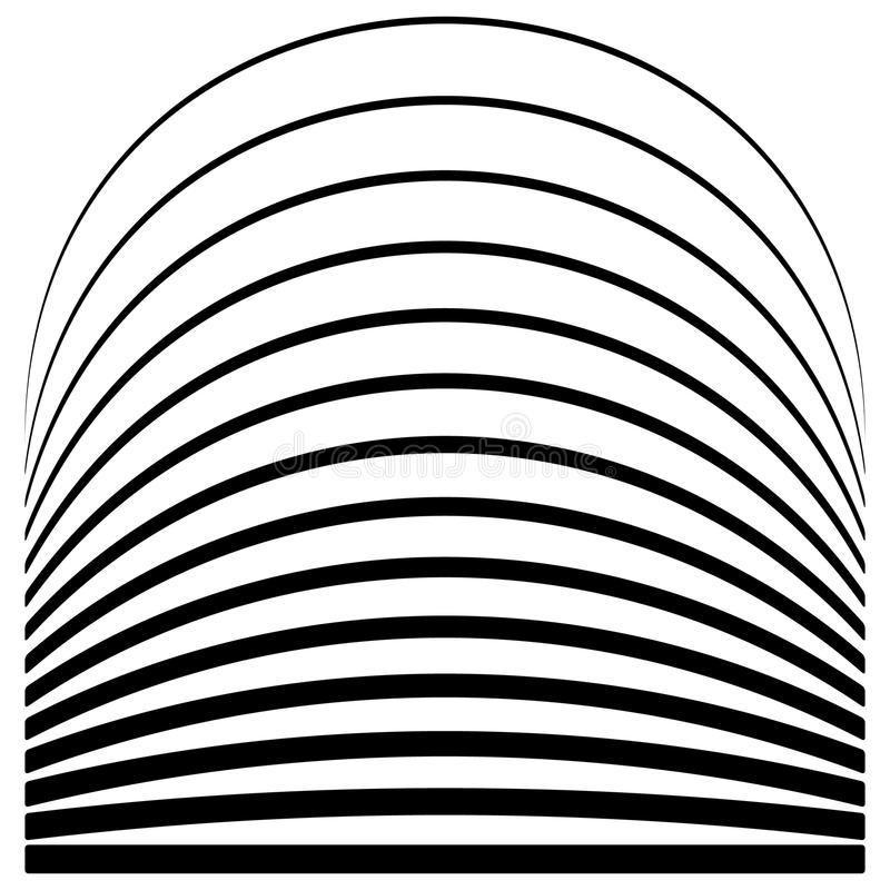 Download Комплект линий с различным уровнем деформации Абстрактное Geome Иллюстрация вектора - иллюстрации насчитывающей иллюстрация, искажение: 81800651
