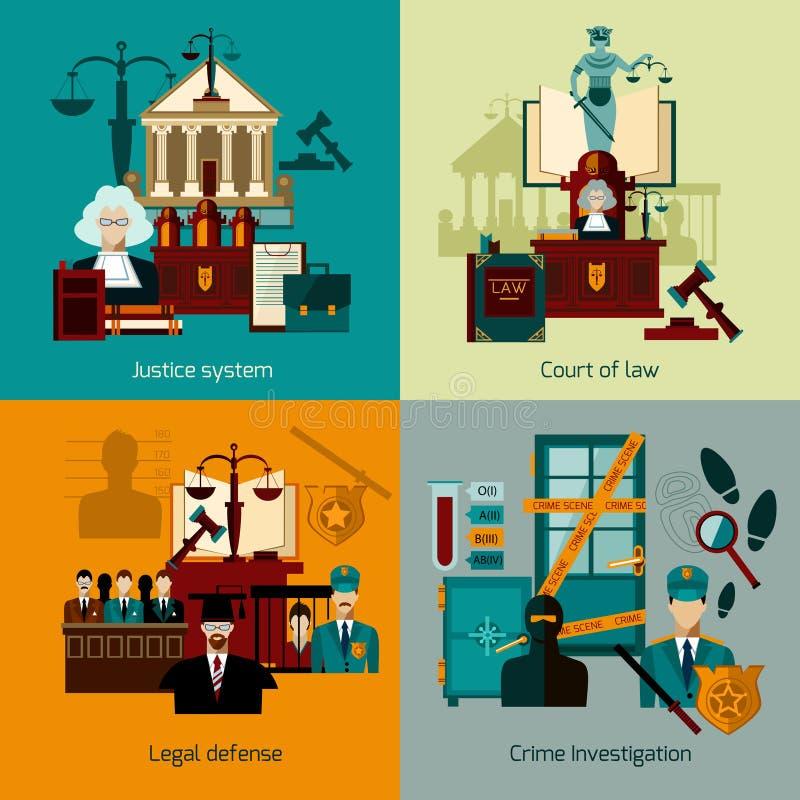 Комплект квартиры закона бесплатная иллюстрация