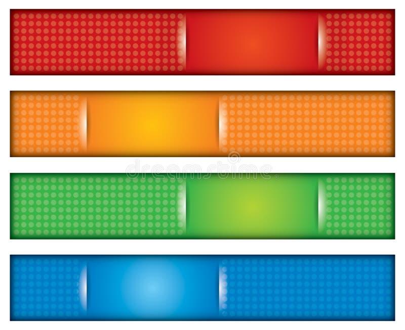 Download комплект коллектора конструкции знамени Иллюстрация вектора - иллюстрации насчитывающей элемент, форма: 40579148