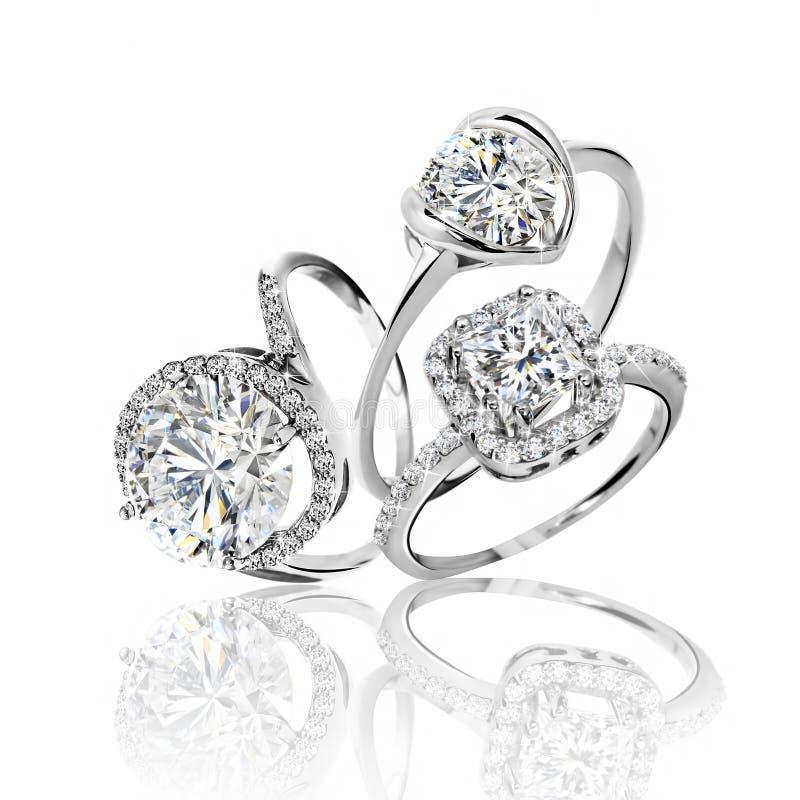 Комплект колец Самое лучшее обручальное кольцо свадьбы бесплатная иллюстрация