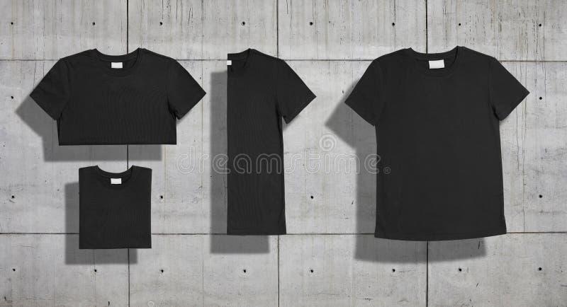 Комплект модель-макета футболки стоковая фотография rf