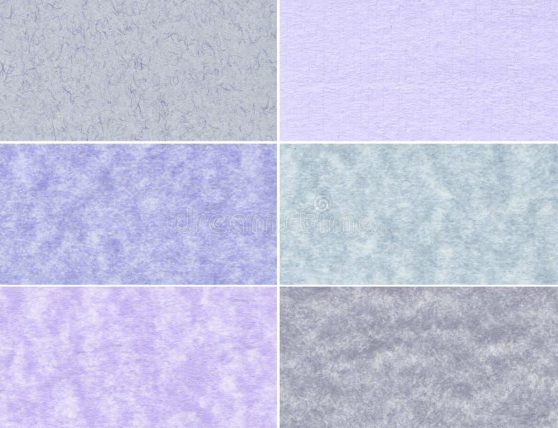 Комплект мраморных текстур стоковые изображения