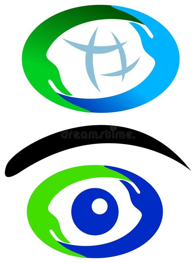 Комплект логотипа рук иллюстрация вектора