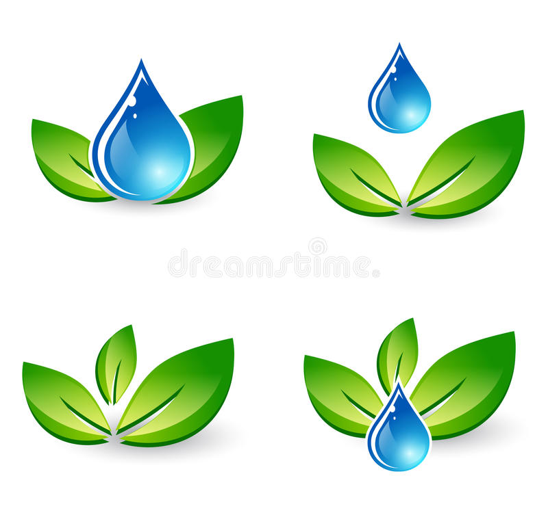 Комплект падения лист и воды