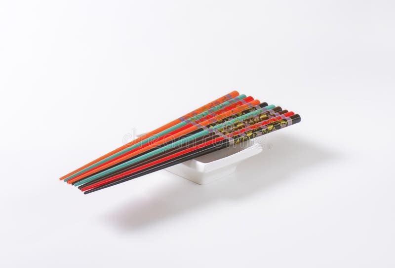 Комплект палочек стоковая фотография rf