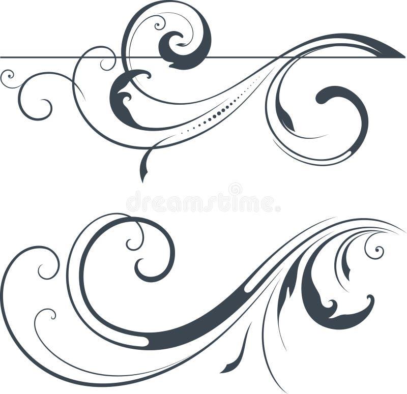 Комплект переченя вектора иллюстрация штока