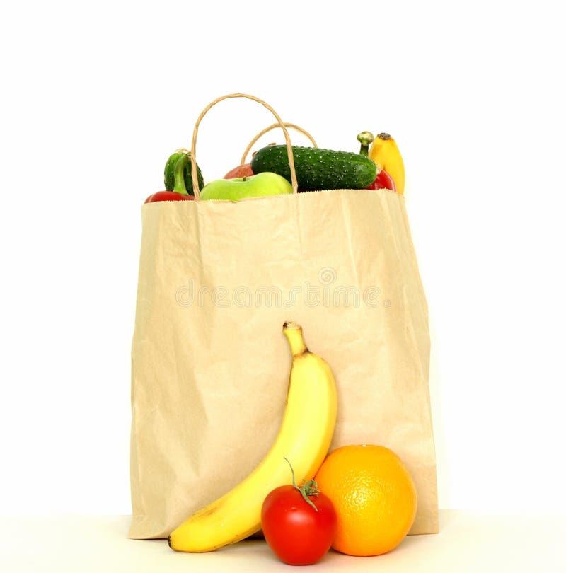 Комплект различной еды удобства (плодоовощ овощей) стоковая фотография rf