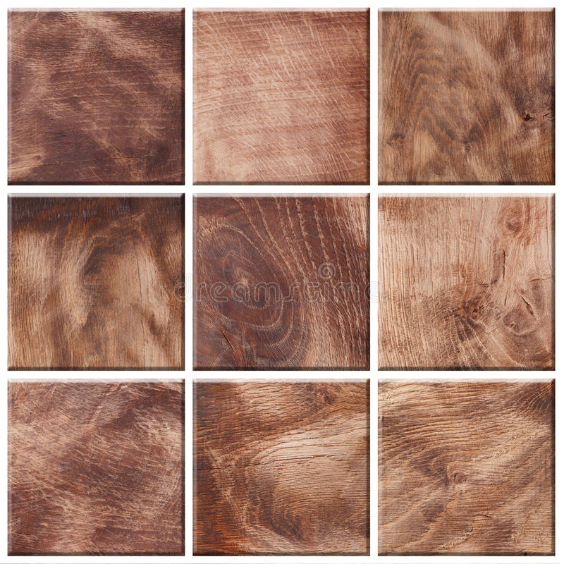 Комплект различных деревянных текстур стоковая фотография