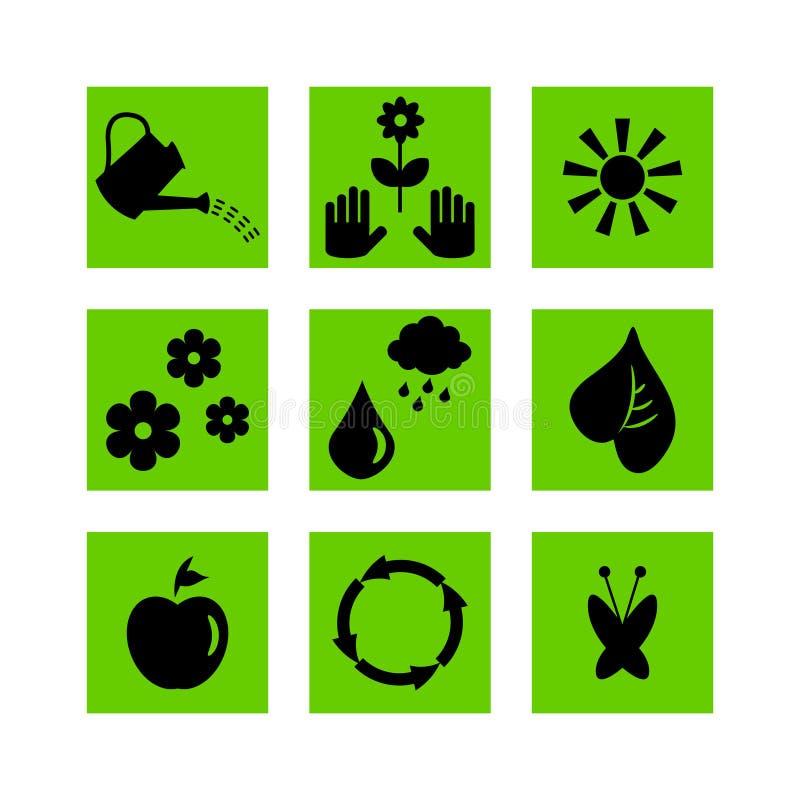 Download Комплект садовничая значков Иллюстрация вектора - иллюстрации насчитывающей concept, органическо: 33729714
