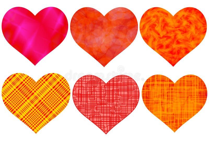 Комплект сердца бесплатная иллюстрация