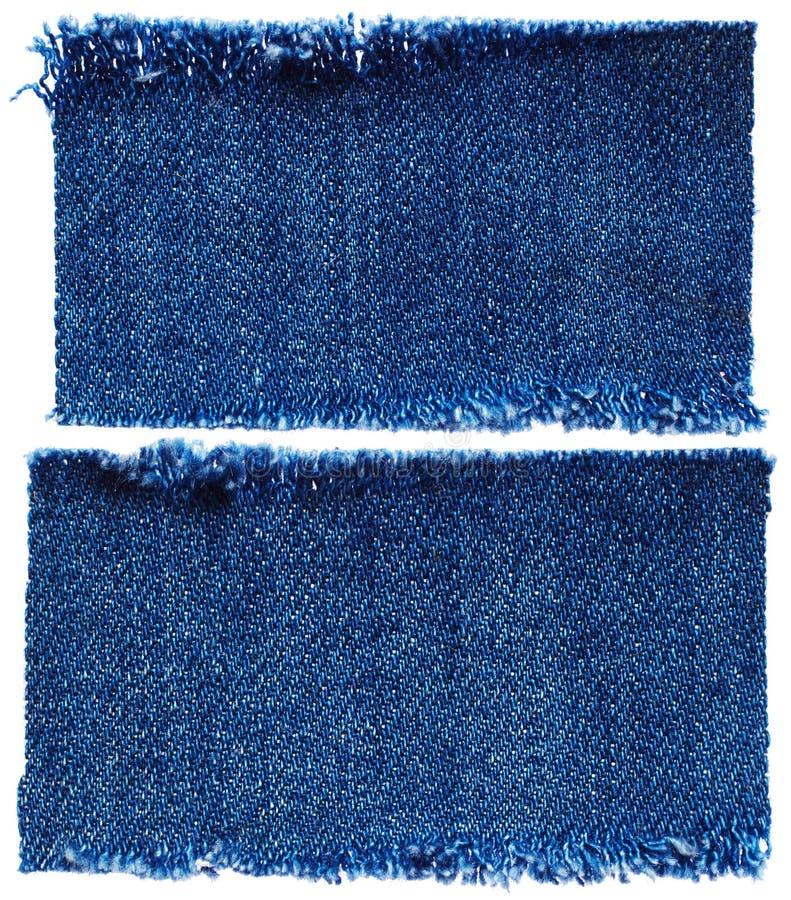 Комплект ткани джинсов стоковое изображение rf