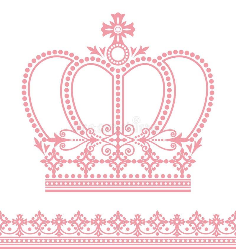Крона иллюстрация штока