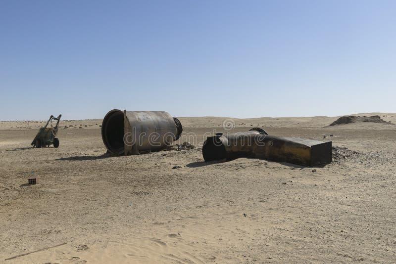 Комплект фильма звездных войн, Тунис стоковое изображение