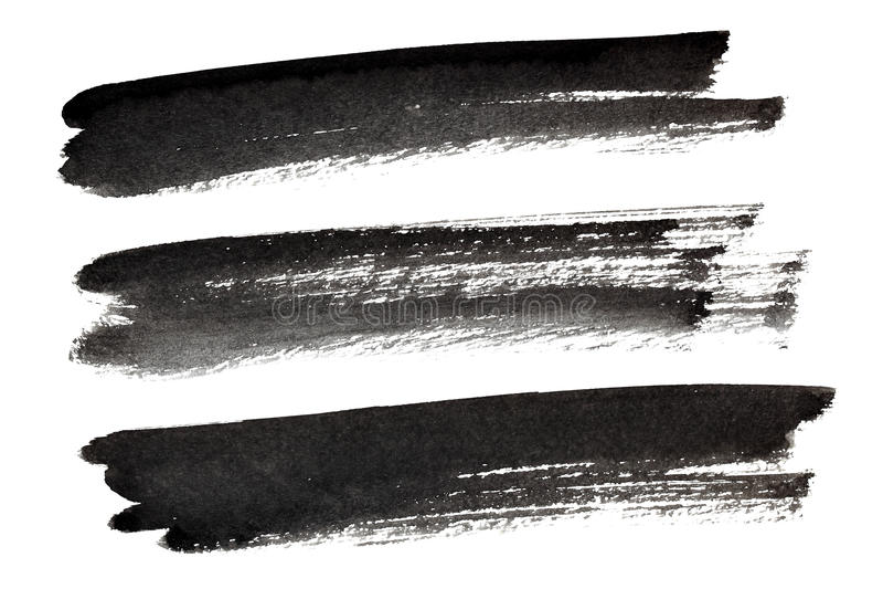Комплект ходов щетки излишка бюджетных средств бесплатная иллюстрация