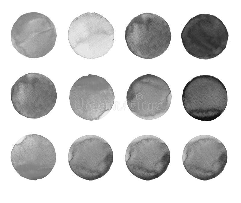 Download Комплект цветастой руки акварели покрасил круг изолированный на белизне Иллюстрация для художнического дизайна Круглые пятна, шар Иллюстрация штока - иллюстрации насчитывающей график, круг: 81808914