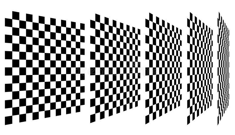 Download Комплект шахмат, Checkered доск в перспективе Иллюстрация вектора - иллюстрации насчитывающей проверено, сетка: 81814995